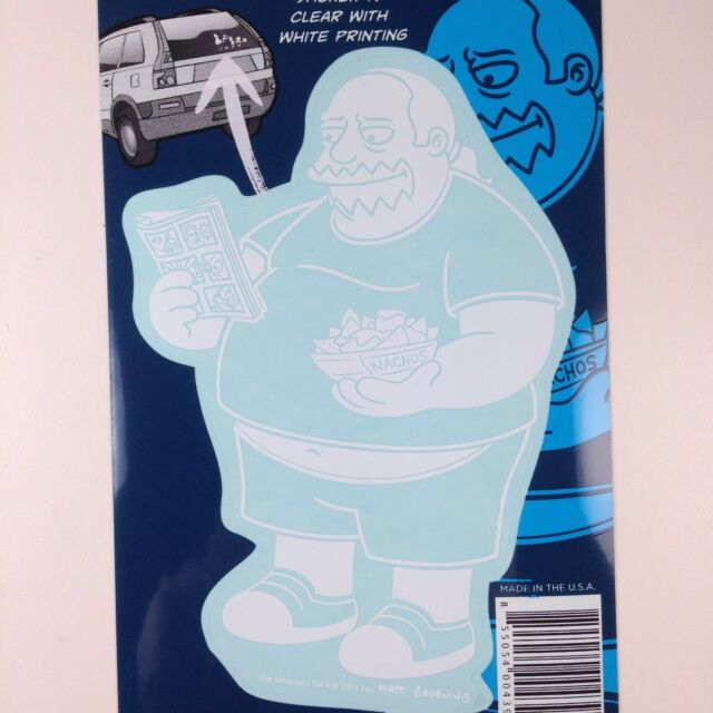 """The Simpsons Krusty the Clown Car Window Sticker Decal Family 5/"""""""