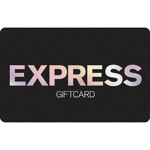 Express Gift Card - $25 $50 or $100 - Email delivery | eBay
