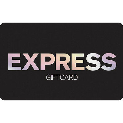 Express Gift Card - $25 $50 $100 - Email delivery