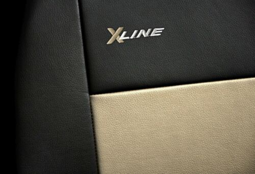 Car seat covers fit Mercedes C Class black//beige  leatherette full set
