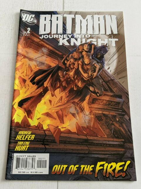Batman Journey Into Knight #2 November 2005 DC Comics