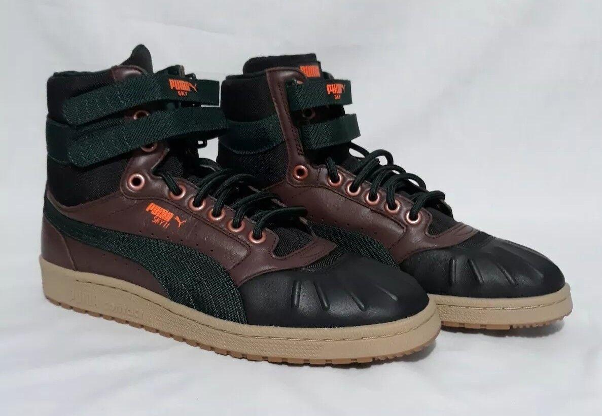 Puma Sky alta Pato botas De Invierno II zapatilla de deporte Con Cordones 2 pares