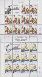 Malta-628-629-Kleinboegen-kompl-Ausg-postfrisch-1981-Folklore