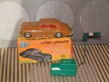 VINTAGE MARX BATTERY OPERATED REMOTE CONTROL ROLLS ROYCE IN ORIGINAL BOX! WORKS!