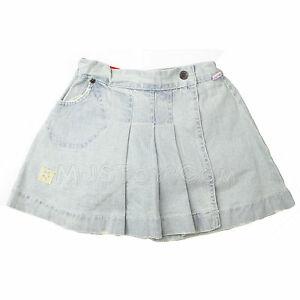 Girls' Clothing (newborn-5t) Nwt Shilav Toddler Girl Adjustable Waist Adorable Cute Pleated Denim Skirt Sz 3t Skirts