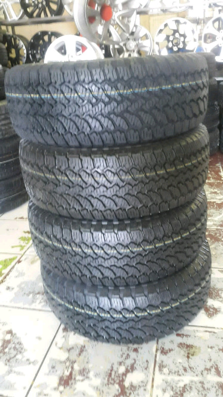 GENERAL GRABBER TYRES 255/60R18AT3 NEW X4
