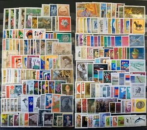 Stamp Collection Yugoslavia MNH - 150 Different Stamps Full Sets & Singles