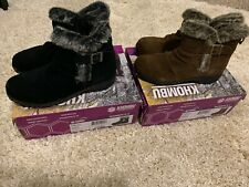8Q/_42 BROWN PICK SIZE NEW KHOMBU Women/'s All-Weather Lindsey Suede Boots