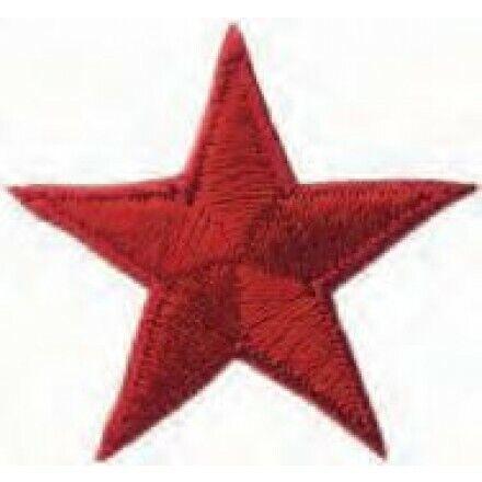 3,0x3,0 cm rot 2074 Applikationen Mono Quick  Stern ca