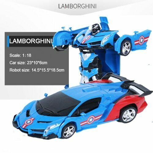 RC Robot Car Transformation Robots Tranformers Model Robots Toys Deformation Toy