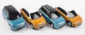 Details about 4x NEW Genuine Suzuki VITARA Pull Back Cars Toy Model 1:43 Car 99000 990K4 VTR