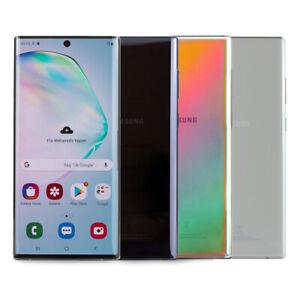 Samsung Galaxy Note 10 plus 256 GO 512 GO n957f aura Glow Black Dual SIM WOW
