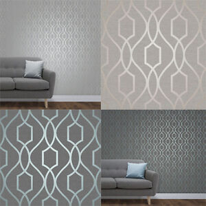 Fine-Decor-Apex-Geometric-Metallic-Wallpaper-Trellis-10m-4-Colours