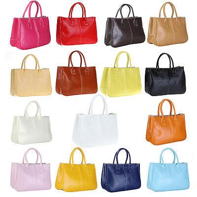 Fashion Women's Lady Handbag Faux Leather Shoulder Bag Totes Purse Hobo