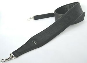 BANJO-STRAP-TENOR-FIVE-OR-SIX-STRING-BLACK-EMBOSSED-LEATHER-BY-CLEARWATER