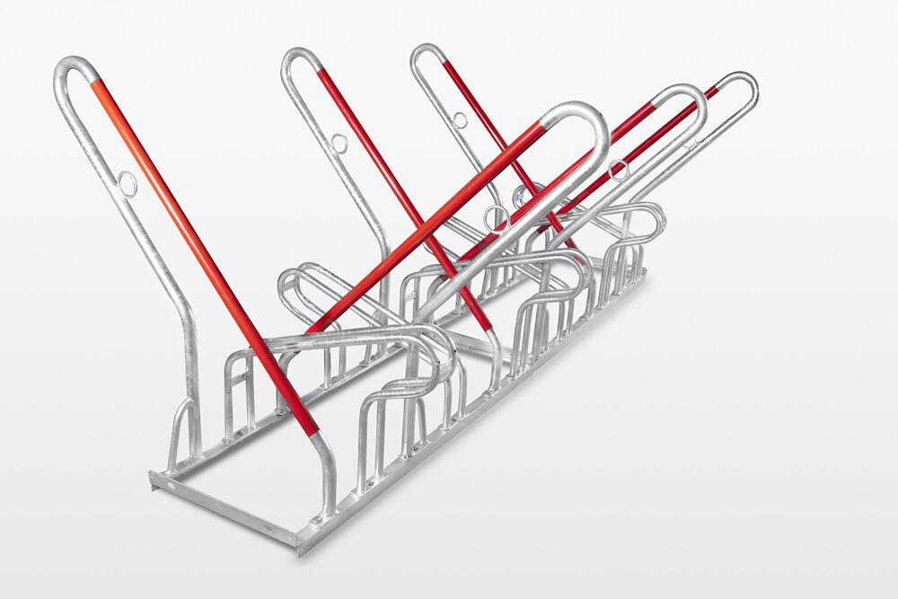 Fahrradständer 6-fach TOP mit Anlehnbügel SAN DIEGO DS