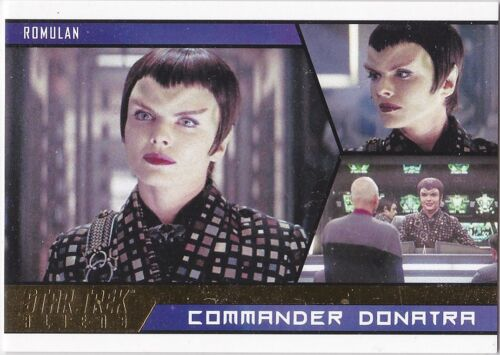 STAR TREK ALIENS 2014 BASE GOLD PARALLEL INSERT #89 029100 RARE