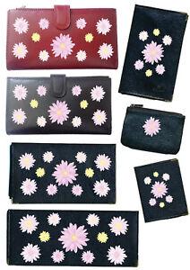 Porte-Chequier-ou-compagnon-ou-porte-monnaie-porte-carte-grise-Marguerite-rose