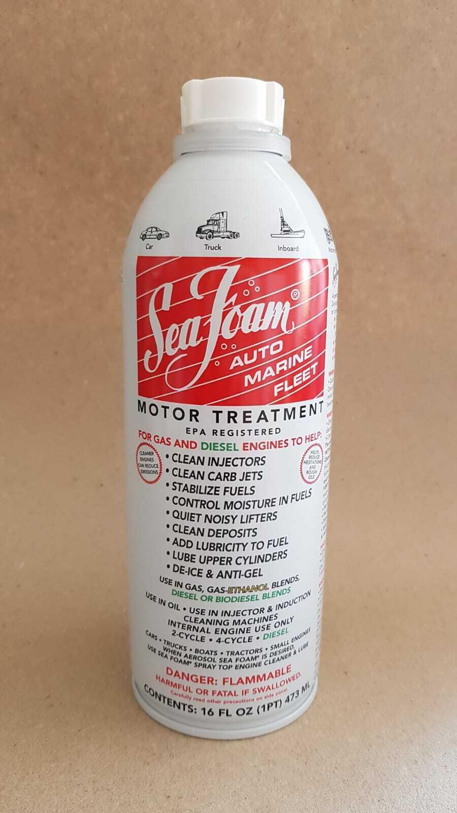 SEA FOAM SF16 Diesel Petrol Engine Injector Cleaner & Fuel