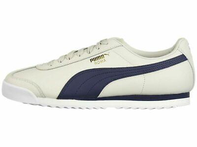 PUMA Roma Classic VTG Glacier Gray Men's Leather Lace Up Sneakers 36956901 | eBay
