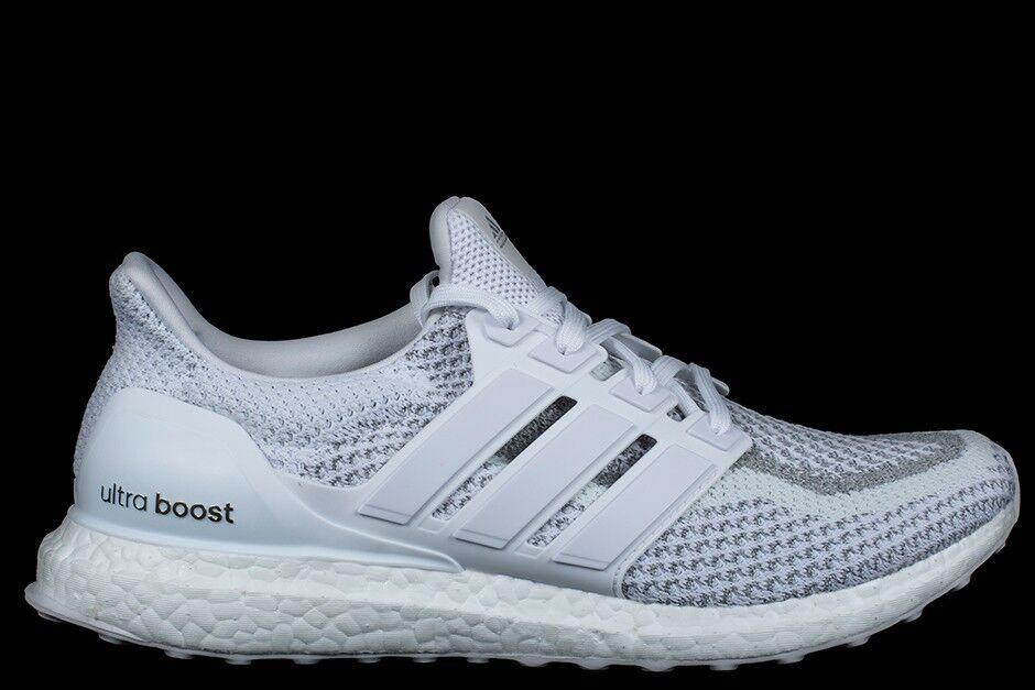 Adidas Ultra Boost LTD white Reflective Size 9. BB3928 Yeezy NMD PK