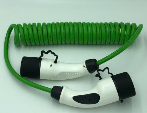 62196 EV Charging Coil//Spiral 4.5m 16 Amp  Type 2 to Type 2