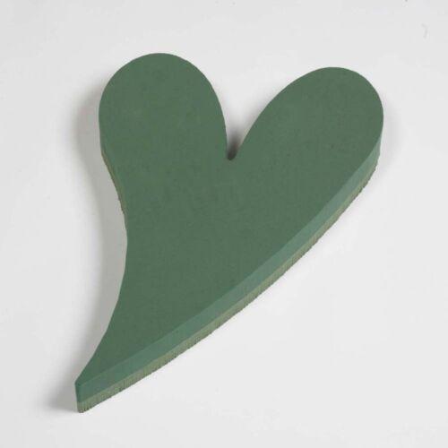 Marcos de espuma oasis ® ® Corazón Pequeño balanceo sólido homenaje floral 50 X 32cm SKU 8214