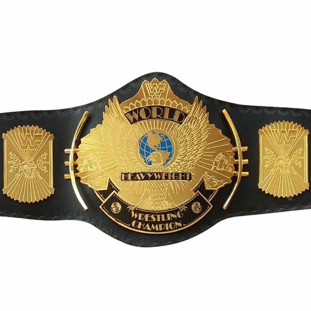 Cinturón De Campeonato Clásico oro Con Alas Águila Cinturón de título para adultos