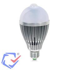 LED Glühbirne Birne mit Bewegungssensor Bewegungsmelder Licht  E27 Warmweiß 12W