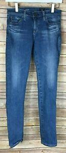 Womens-039-AG-Adriano-Goldschmied-The-Stilt-Cigarette-Leg-Jeans-Pants-25R