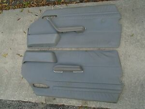 Stainless steel DOOR JAMB COVERS fits Mercedes-Benz 380SL 450SL and 560SL