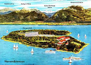 Die-Herreninsel-am-Chiemsee-gel-AK