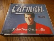 Carman 36 All Time Greatest Hits 1993 3 CD Set Gospel Everybody Praise The Lord