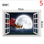 thumbnail 5 - 3D Merry Christmas Wall Decals Removable Window Stickers Decor DIY Art Xmas  *
