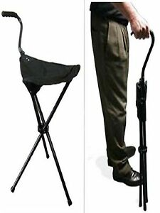 Lightweight Tripod Portable Folding Walking Canvas Stool