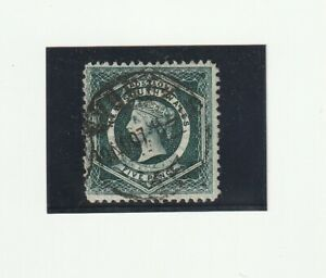 Australia NSW New South Wales 1860 Michel n. 26, 5 pence timbrato, 2 scansioni