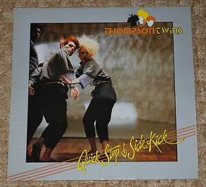 THOMPSON-TWINS-Quick-Step-amp-Side-Kick-Original-VINYL-LP-Arista204924-10-tracks