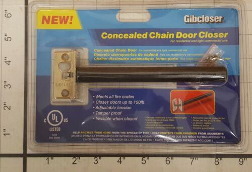 CONCEALED CHAIN DOOR CLOSER HIDDEN IN DOOR UP TO 150# DOOR ADJUSTABLE TENSION
