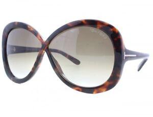 Tom Ford Margot Sunglasses Havana Frame Brown Gradient Lens FT226 52F 63-5 130