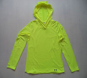 59196eed41 Details about Womens UNDER ARMOUR ISO Chill fitness hoodie sz S running  hiking ski layer NWOT