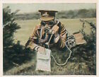 N°35 British Army Gas Mask Telephon messages /Reichswehr Germany 30' CHROMO