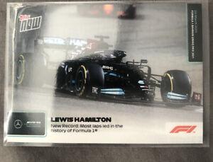 (Lot 5 ) Topps Now F1 Card #001  LEWIS  HAMILTON