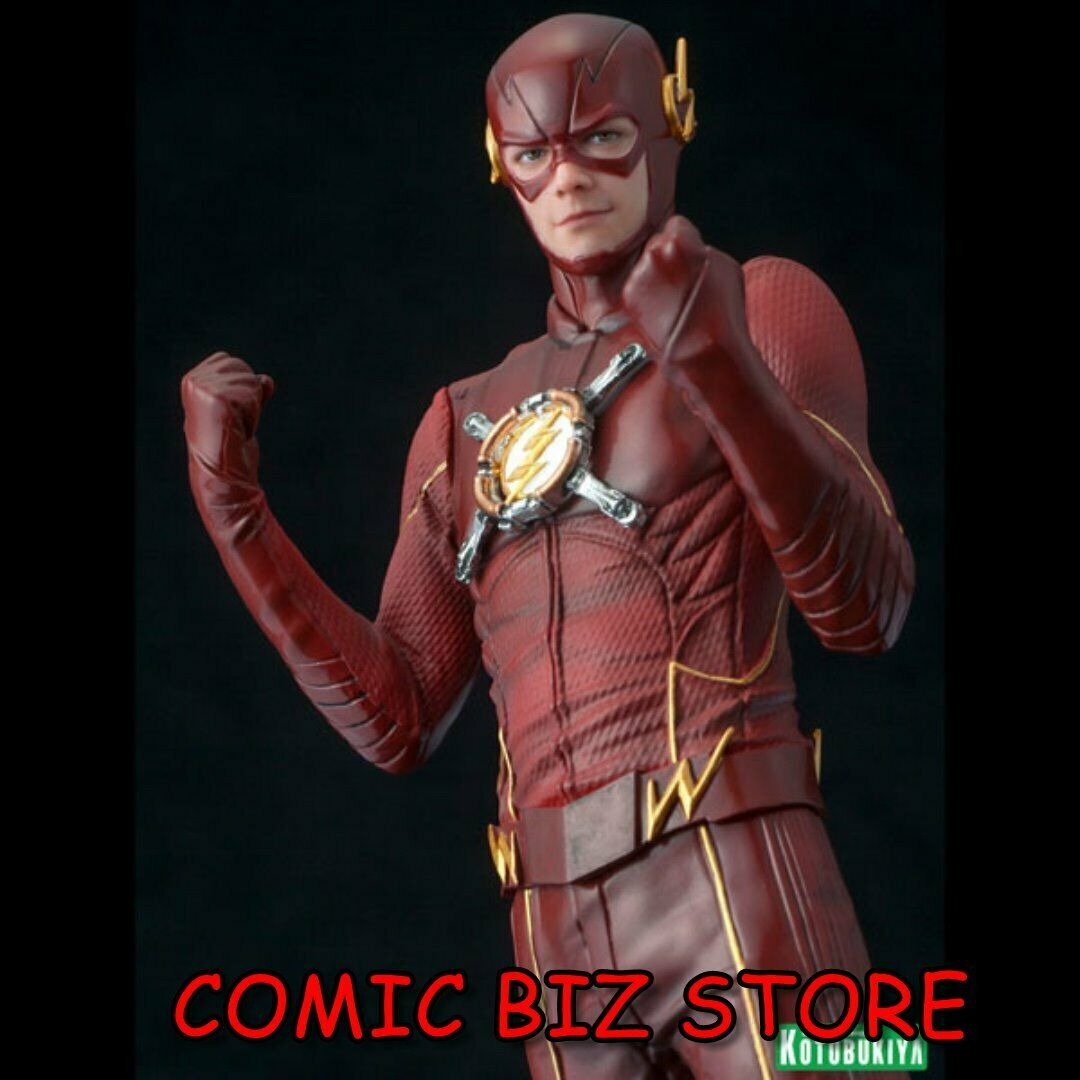 FLASH TV SERIES FLASH LTD EDN ARTFX+ STATUE(2017) 1 10-SCALE PRE-PAINTED SCARCE