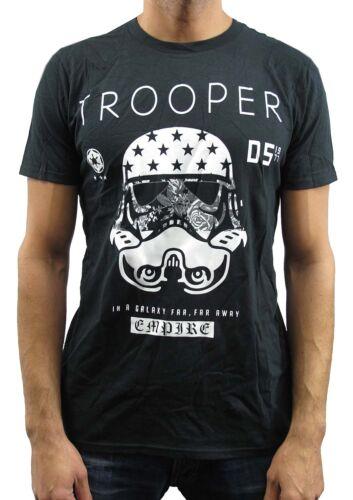 Star Wars Trooper Empire Black Men/'s T-Shirt New