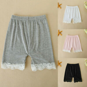 Toddler-Children-Kid-Baby-Girls-Safety-Pants-Shorts-Underwear-Solid-Lace-Clothes