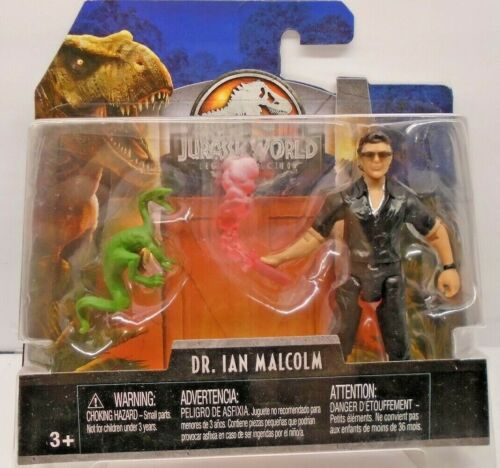 Jurassic World Exclusive Legacy Collection Dr Ian Malcolm Jurassic Park NEUF