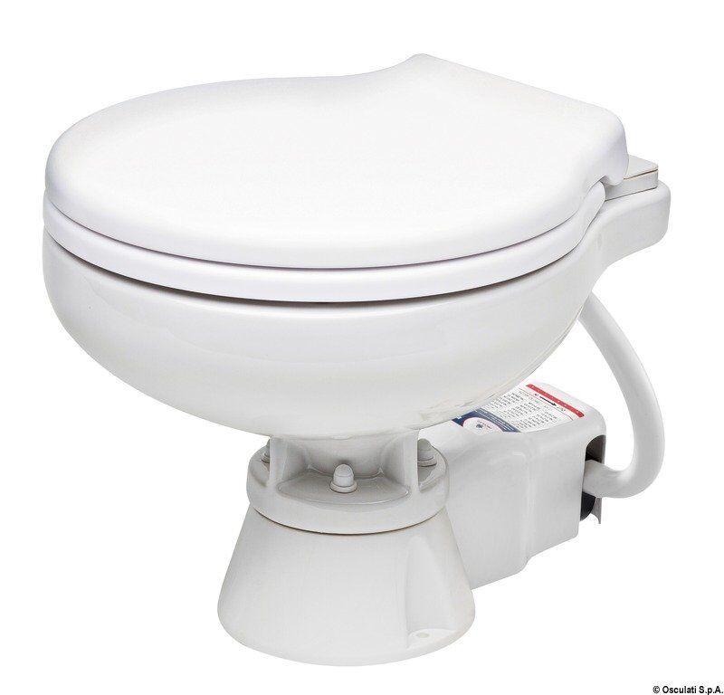 Wc Elektrisch Silent Space Saver 12V Marken Osculati 50.245.12