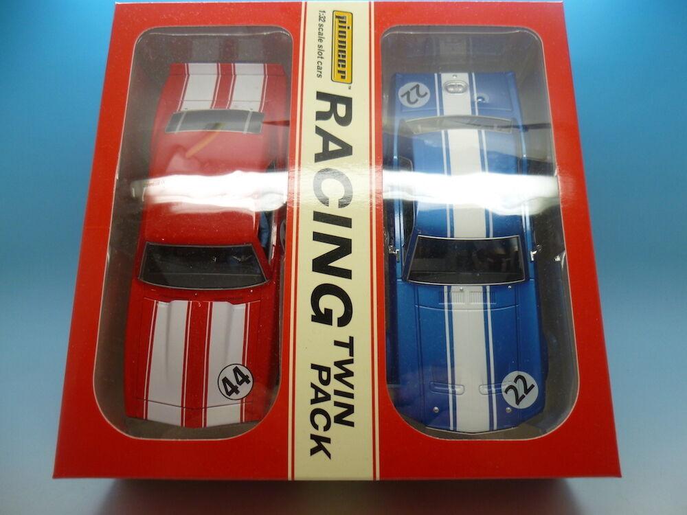 Pioneer Racing Twin Pack RTP RTP RTP Mustang 8 vs Camaro, Comme neuf Inutilisé 18e884
