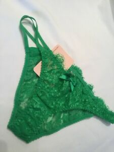 Vintage Agent Provocateur Payge Lace Brief Size Extra Small Emerald ... 9e27b232a
