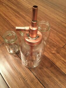 Alcohol Distiller Moonshine Hanging Jar Thumper With All